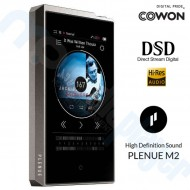 Reproductor MP3 DAP Hi-Fi Cowon Plenue M2 128 GB DSD, 24 bits 192 KHz