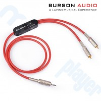 Cable + Pro Cable de interconeccion V5 RCA a 3.5mm