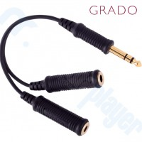 Cable Y Splitter Grado 6.3mm a doble 6.3mm