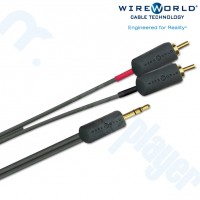 Cable Interconector 3.5mm a RCA I World Mini 1.5M