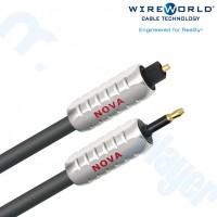 Cable Optico Nova Toslink a 3.5mm Optico 0.3M