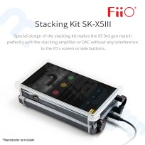 Fiio SK- X5III Stacking kit para Fiio X5 3nd Gen