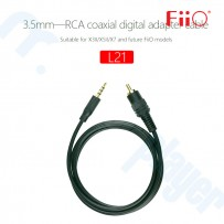 Cable Fiio L21 Adaptador  3.5mm a Coaxial Digital RCA