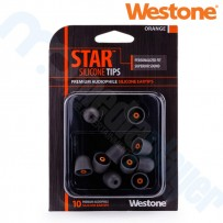STAR Silicone Eartips - Orange Westone